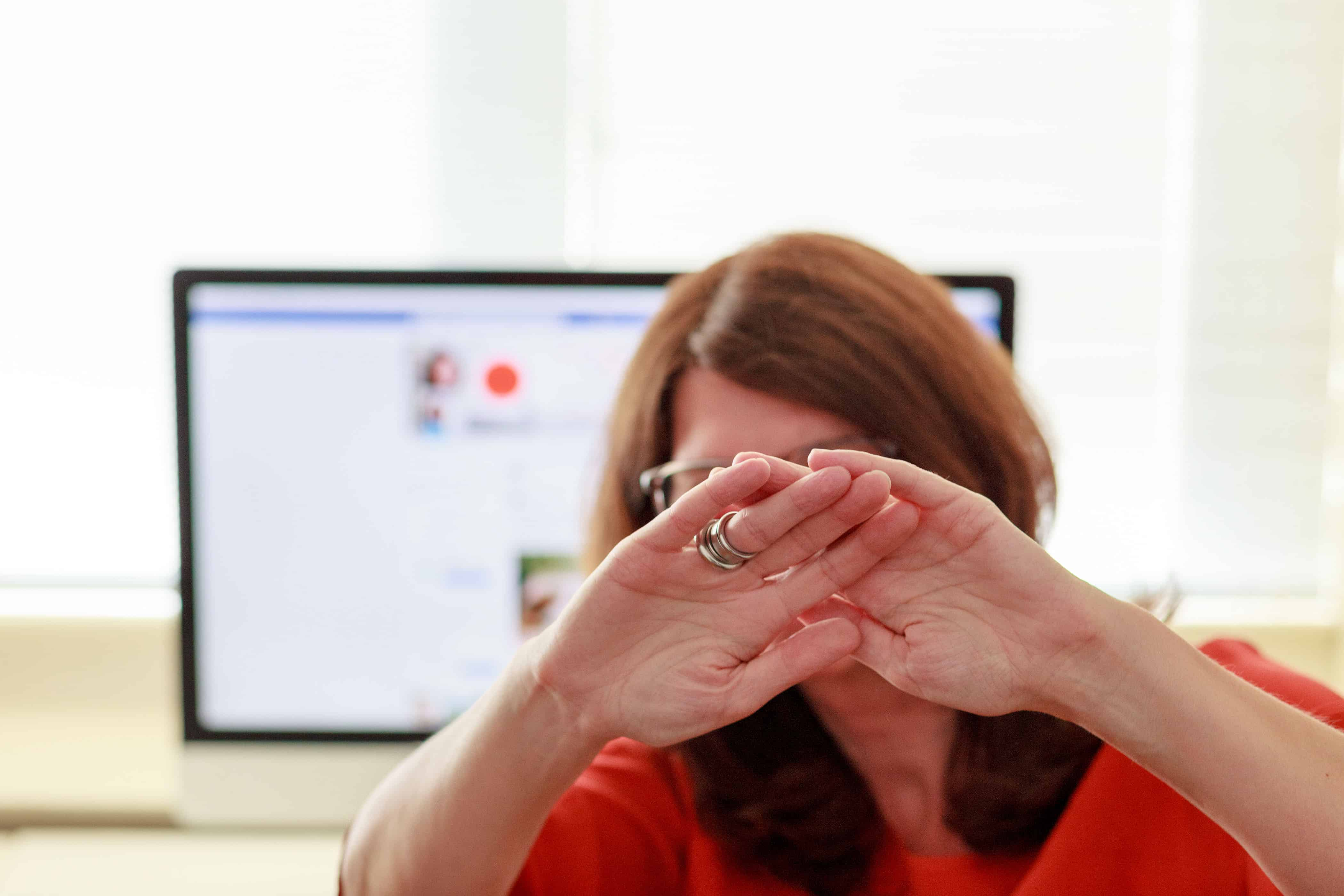 Angst voor online zichtbaarheid