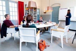 Jacqueline van Succesvol in Beeld traint team communicatieprofessionals in het effectief communiceren met beeld