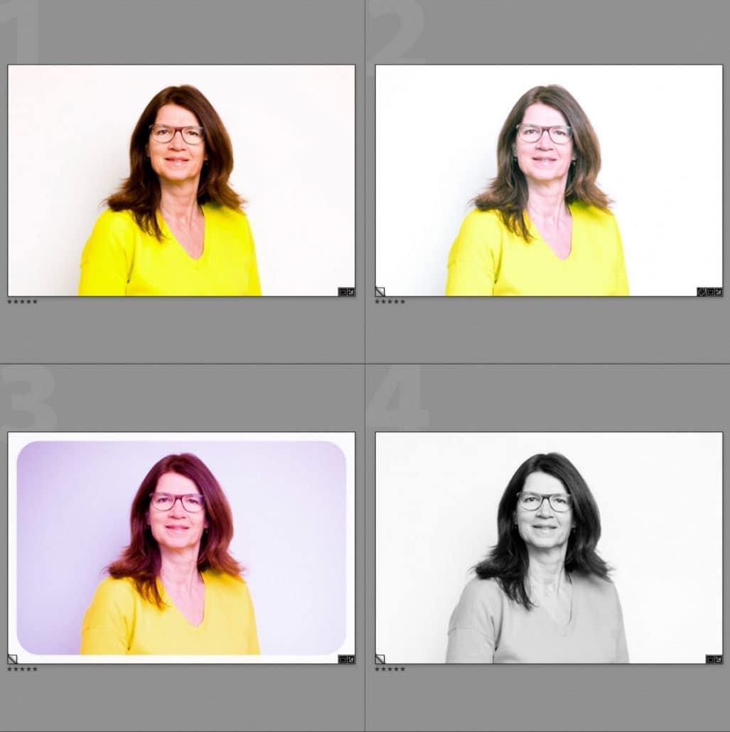 Verschillende beeldstijlen met behulp van beeldbewerkingssoftware